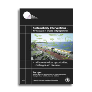 sustainability interventions – for managers of projects and programmes